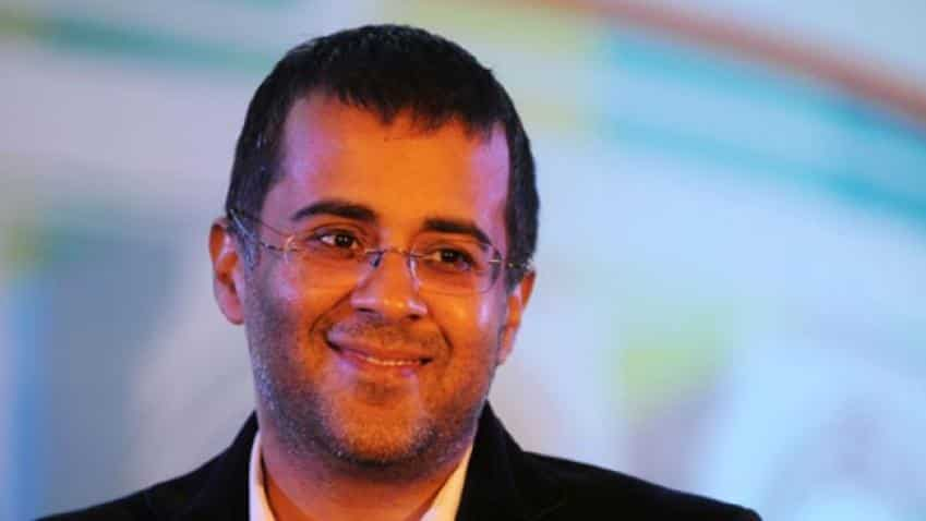 Chetan Bhagat signs 6-book deal with Amazon Publishing