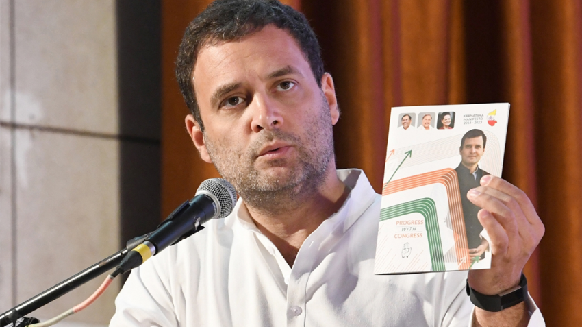 Karnataka assembly elections 2018: Rahul Gandhi launches Mann Ki Baat manifesto