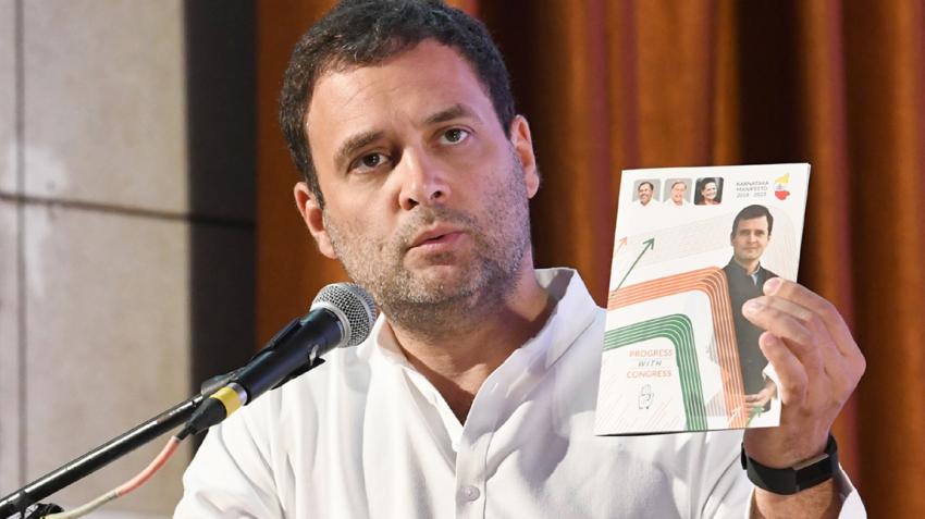 Karnataka assembly elections 2018: Rahul Gandhi launches Mann Ki Baat manifesto