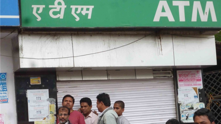 ATM cash crunch is back! This time in new region