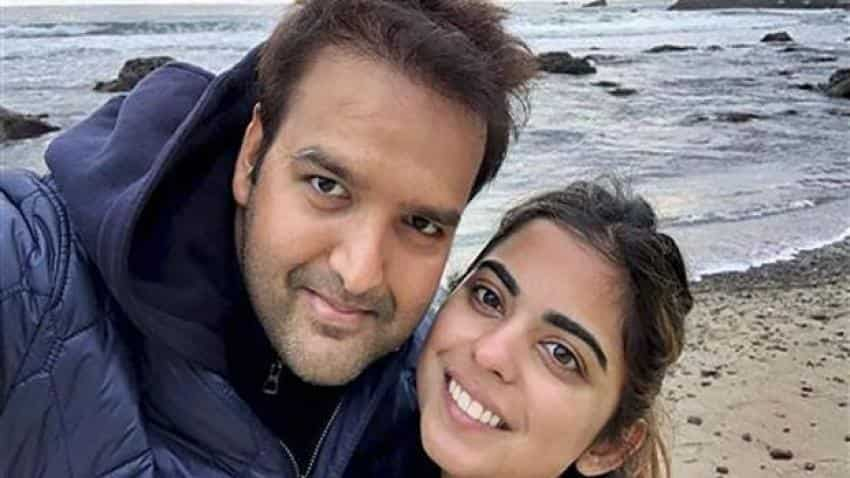 Isha Ambani marriage to Anand Piramal: Mukesh Ambani and family visit Mumbai temple