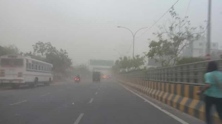 Dust storm in Delhi delays flights; IMD predicts more rain, thundershowers in North India