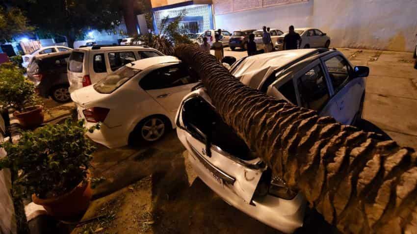 Storm in Delhi, Uttar Pradesh, more: IMD forecast is for another thunderstorm today