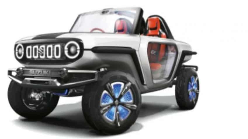 Maruti Suzuki e-Survivor concept! You just can't afford to miss this car