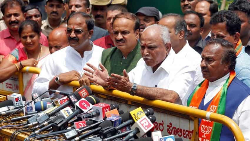 Yeddyurappa is new Karnataka chief minister, sworn in as CM for 3rd time