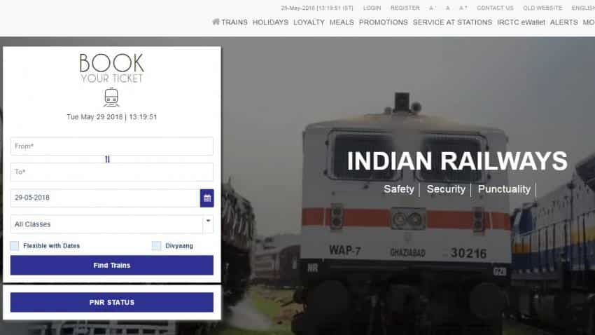 IRCTC website upgraded as Indian Railways looks to make ticket booking easier; check irctc.co.in/nget