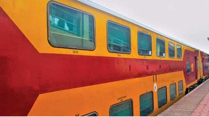 Indian Railways' Coimbatore-Bengaluru double-decker train from June 10