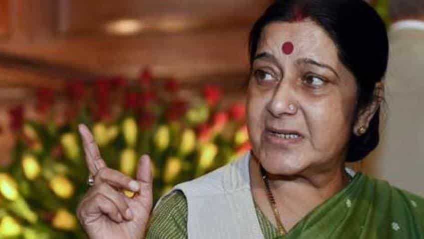 Sushma Swaraj's plane 'goes missing' for 14 minutes