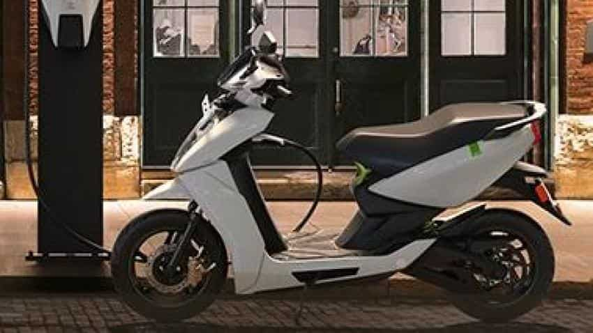 Ather launches e-scooter priced at Rs 1 24 lakh | Zee Business