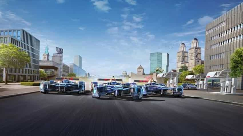 ABB propels e-mobility shift with Formula E race in Zurich on June 10