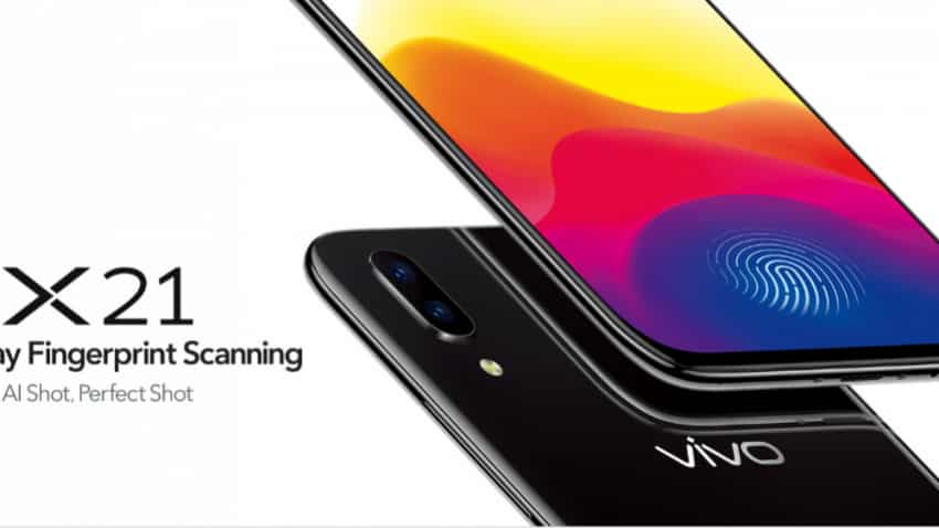 Vivo X21 smartphone: Decent looking device with a design language