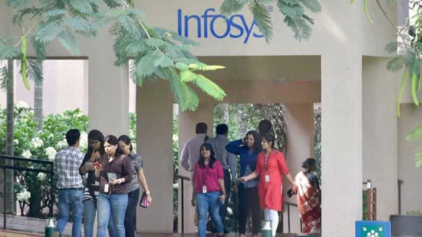 Infosys share price hits two-year high; IT giant gets on with local hiring