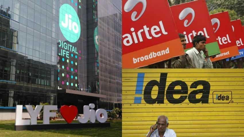 Reliance Jio offer impact: Investors beat down Bharti Airtel, Idea Cellular shares