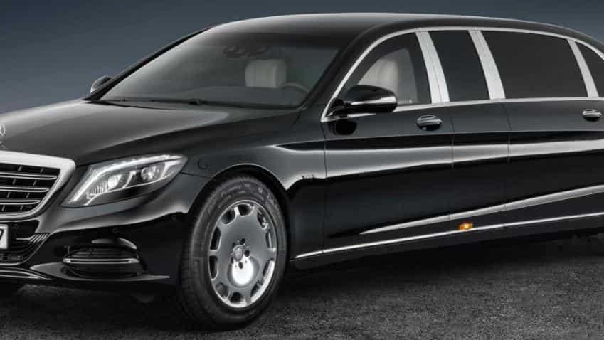 $1 mn bulletproof Mercedes S600 Pullman Guard limo; Check out Kim Jong Un car