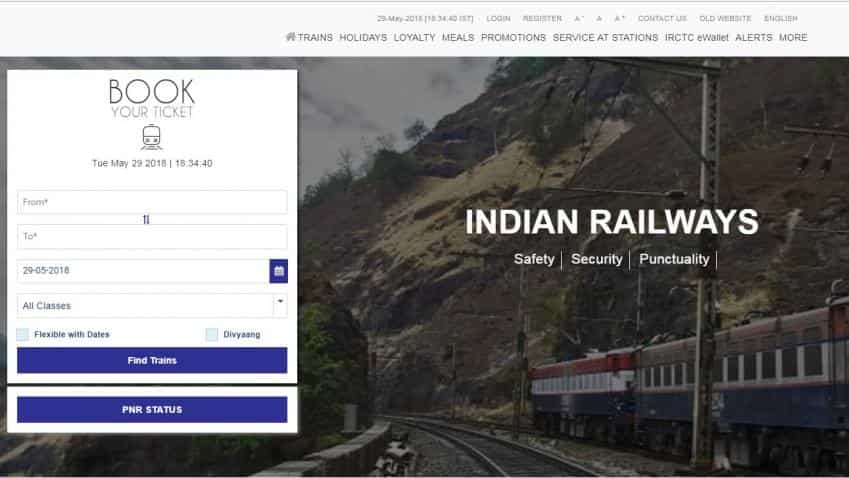 How to book Railway tickets online; IRCTC launches new website, check steps