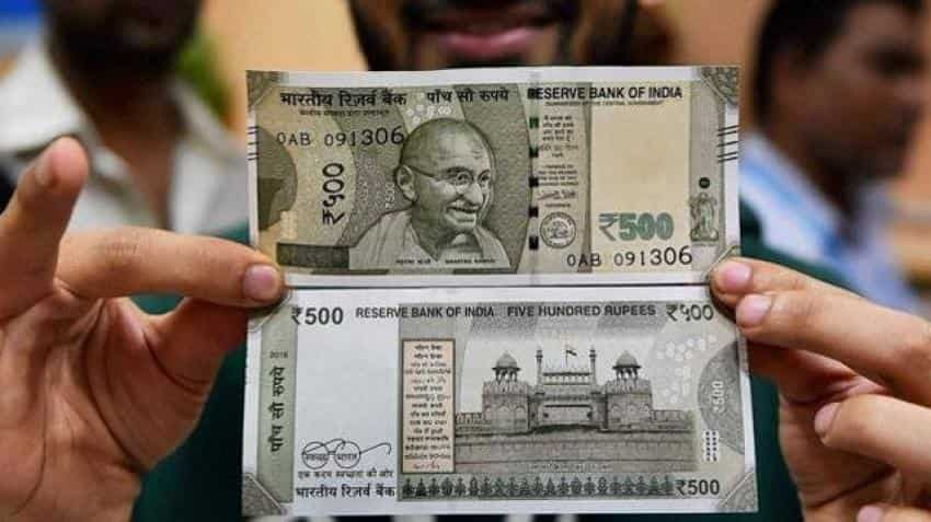 Is there a fake Rs 500 currency note in your wallet?
