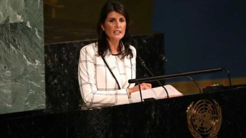"US withdraws from UN Human Rights Council condemns ""hypocrisy"" of Rights body"