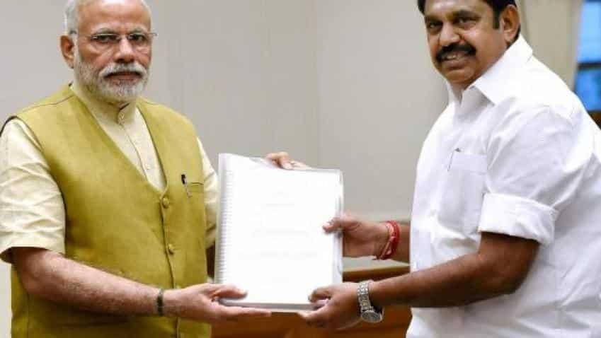 AIIMS to come up near Madurai, TN CM thanks PM