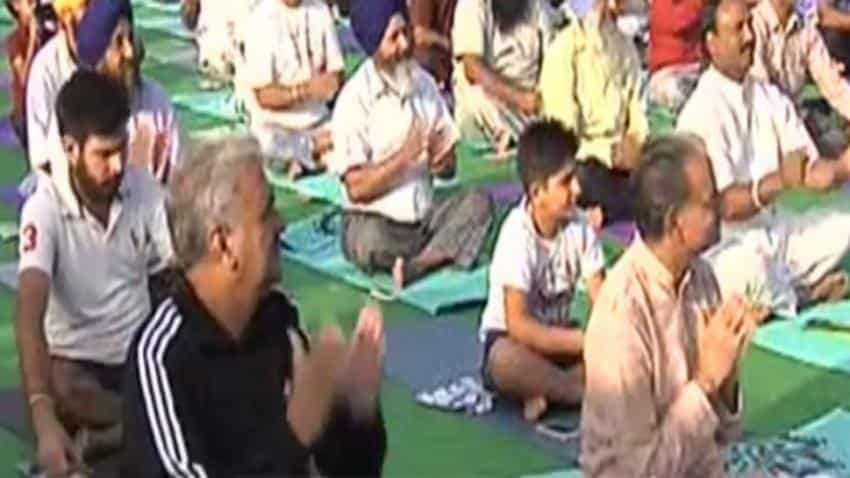 Yoga in the foothills of Himalayas: Drivers learn Truck Aasana