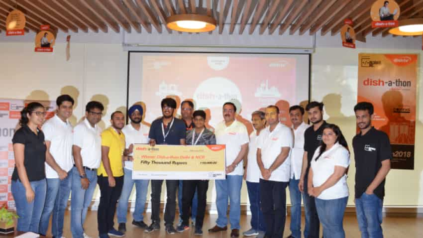 Team Git Init from DTU wins 'Dish-a-thon' in Broadcasting industry's first ever Hackathon