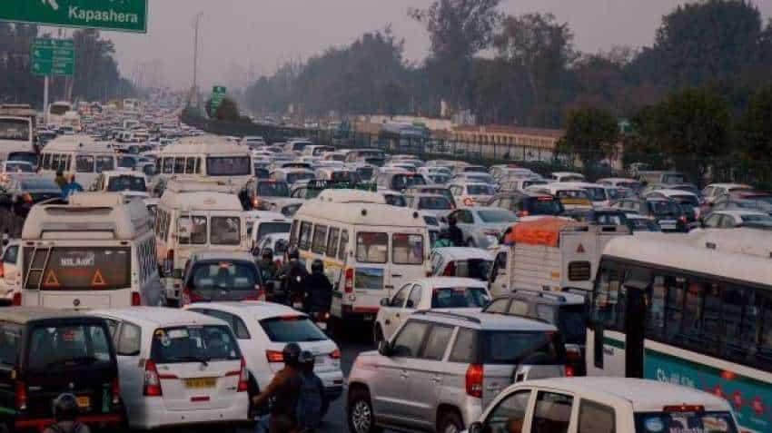 Delhi-Gurugram expressway traffic movement hit after heavy rainfall