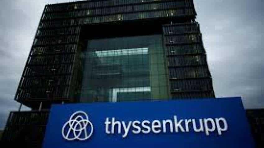 Thyssenkrupp seals landmark steel venture with Tata Steel