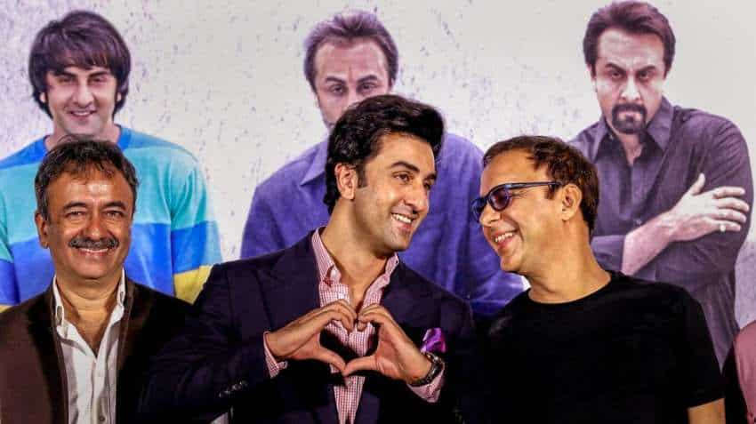 Sanju box office collection day 3: Even as Ranbir Kapoor starrer soars, PVR, INOX Leisure share prices plunge