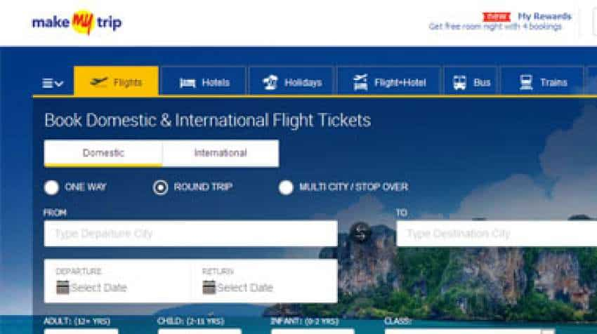 Make My Trip Domestic Flights Offer: Get Rs 1299 cashback on bookings