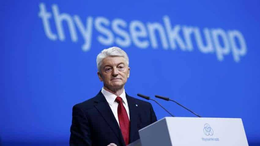 After merger with Tata Steel, Thyssenkrupp CEO steps down