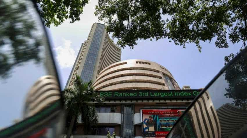 Sensex soars to 5-month high; Nifty tops 10,800-level ahead of earnings season