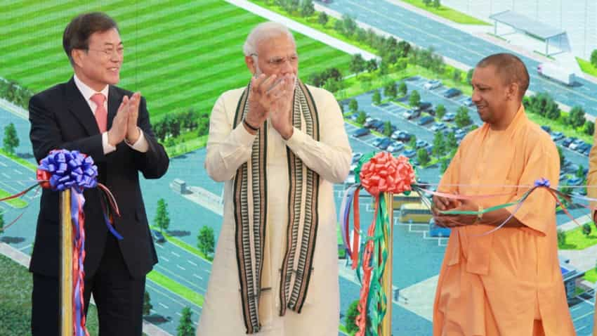 PM Modi inaugurates world's largest mobile factory in Noida jointly with South Korean president