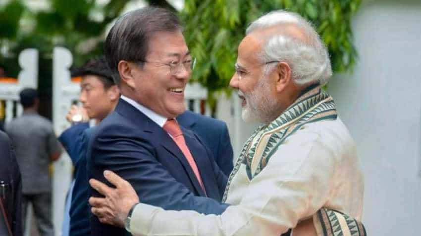 India, South Korea aim to more than double trade to $50 billion