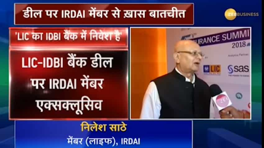 No timeline has been fixed to reduce LIC share in IDBI Bank: Nilesh Sathe, IRDAI