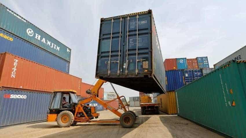 India's exports up 17.57 pct at $27.7 bn in June; trade deficit widens to 43-month high