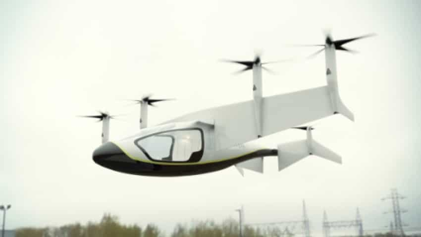 Rolls-Royce unveils concept electric vertical take-off and landing vehicle at Farnborough
