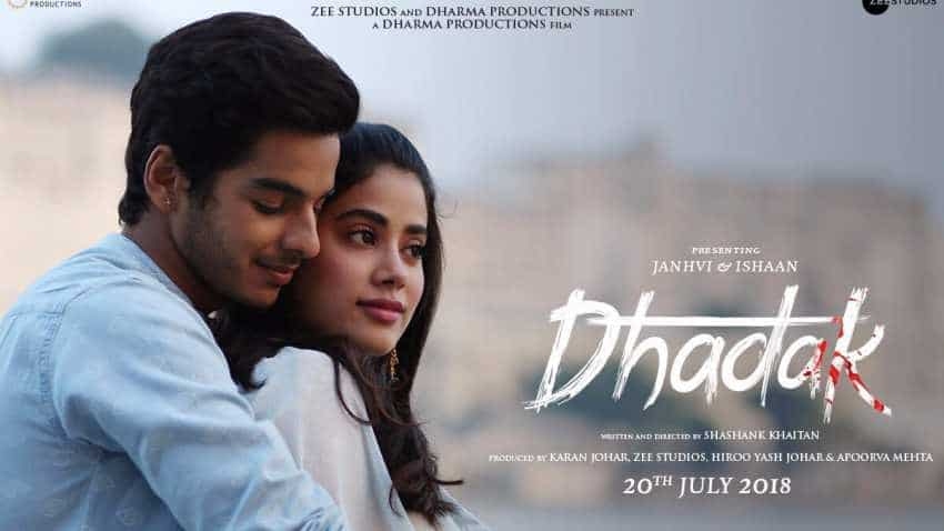 Dhadak box office collection day 1: Janhvi Kapoor, Ishaan Khatter movie set to earn Rs 25 cr