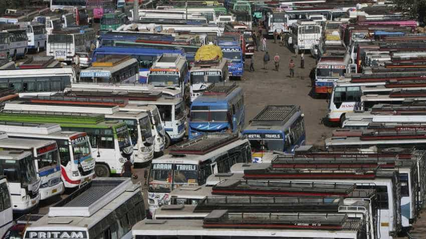 Pan India bus strike: AIMTC orders 'chakka jam', private, school, interstate buses, tempos to stay off roads