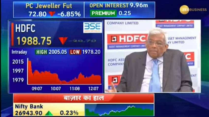 Deepak Parekh: HDFC AMC launching IPO as alternate investment opportunities are lesser now