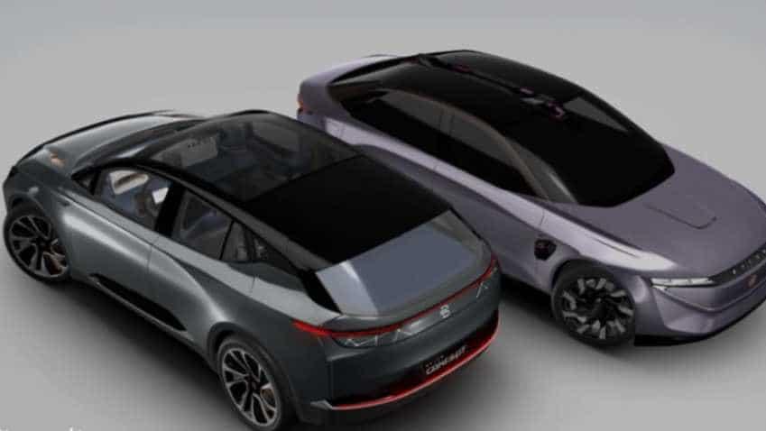 An iPhone like car takes on Elon Musk supercar Tesla