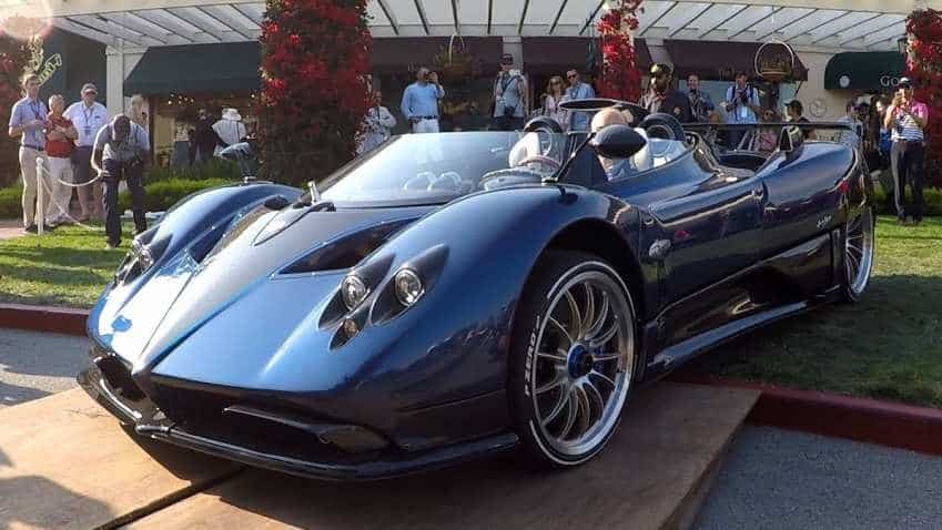Pagani Zonda HP Barchetta hypercar is the world's most expensive car; price hits Rs 122 cr mark