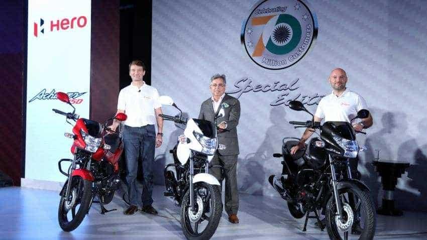 Hero Motocorp Q1FY19 net profit at Rs 909 crore; sales up 14%