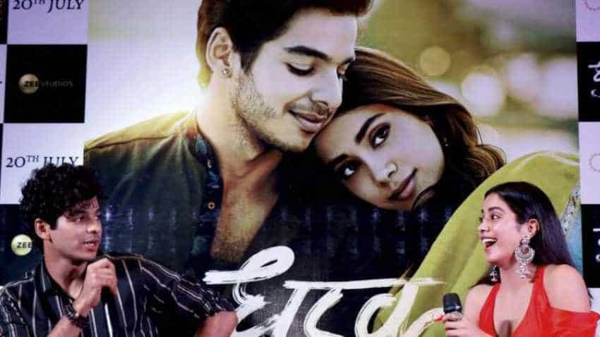 Dhadak box office collection: Ishaan Khattar and Janhvi Kapoor film earns 54.17 cr