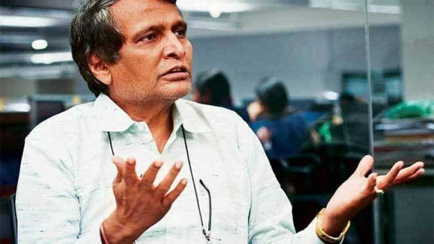 Aviation: 'Digi yatra' facility likely to take off in 2 months, says Suresh Prabhu
