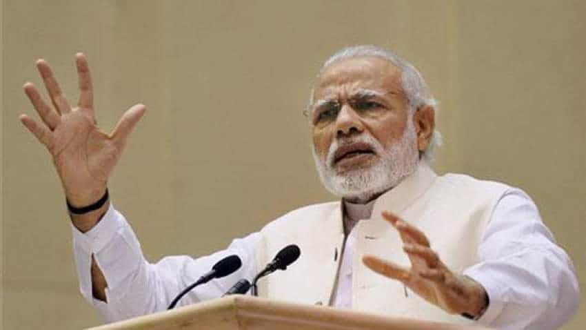 PM Narendra Modi says not afraid of being seen with industrialists, opposition hits back