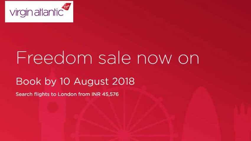 ticket e atlantic Virgin airlines