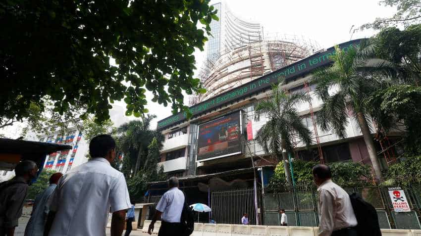 Nifty trading around 11,450; Sensex up at 38,030.93  pts; Jet Airways tanks 10%