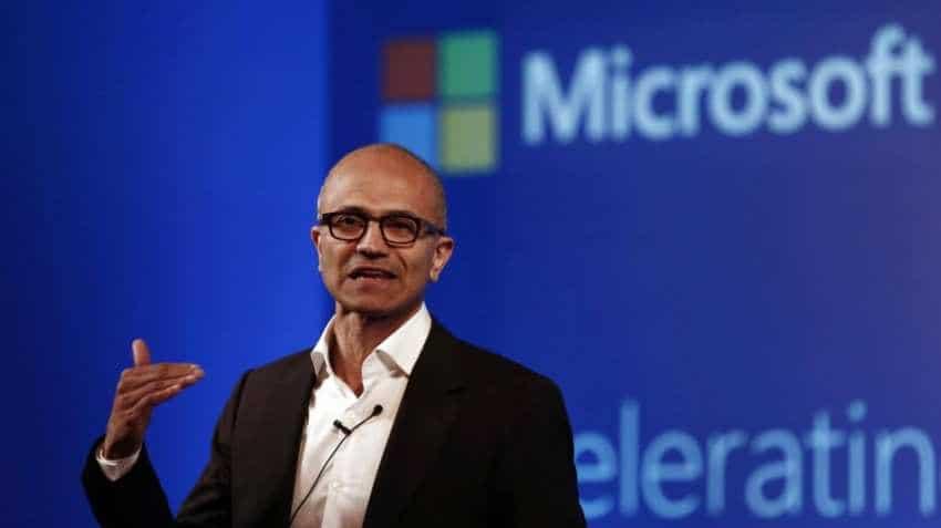 Microsoft boss Nadella rakes in USD 35 million in share sale