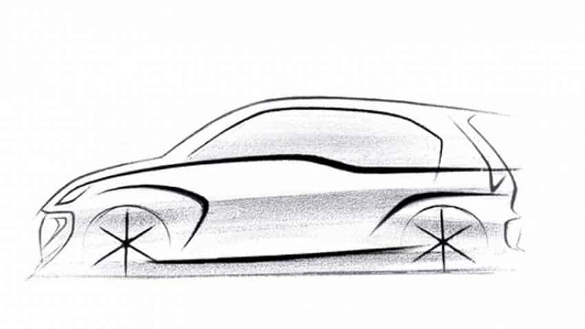New Hyundai Santro (AH2) first design sketch teased; no price yet, but check out sporty style