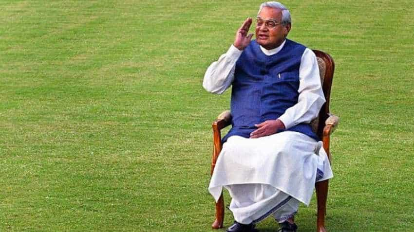 Atal Bihari Vajpayee: The prime minister who lived the future of Indian Economy - A tribute