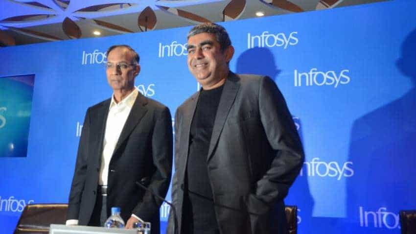Infosys shares fall 4% on CFO Ranganath's exit